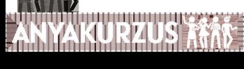 Anyakurzus logo fehér
